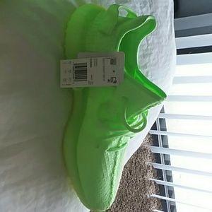 Adidas Yezzy Boost 350 v2 green glow
